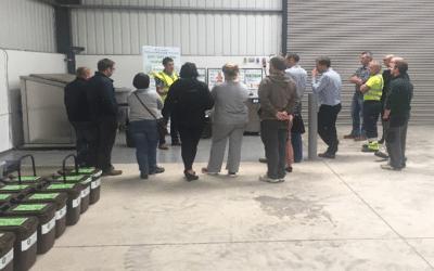 Navan Recycling Centre install